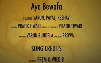 Aye bewafa Paartho Whatsapp Status Video Download